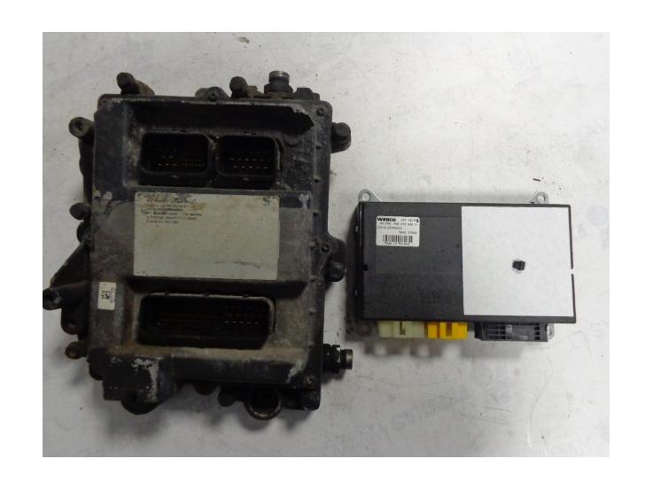 Iveco Engine start set EDC7UC31, VCM elektronik 4462700020 and key