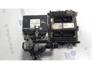 MAN D2676 EURO 6 ECU set 0281020273, 51258047212, PTM 81258057120, ignition with key