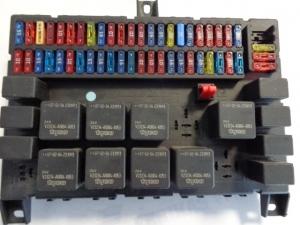 DAF ECAS ECU control unit 1639389, WABCO 4461702130