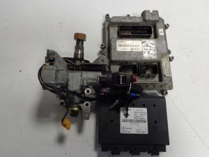 MAN D2066 EURO 5 engine start set ECU 0281020067, PTM 81258057118, ignition with key chip