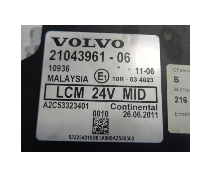 Volvo LCM light control module 21043961-06 - FERIKAS