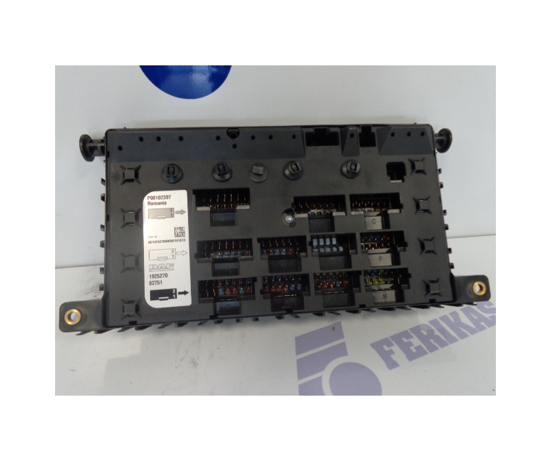 daf xf106 central fuse box 1925270 ferikas. Black Bedroom Furniture Sets. Home Design Ideas