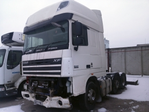 2007 DAF XF 105 EURO5 Super Space