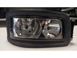 MAN TGA 2001-2007 headlight, manual height...