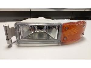 MAN TGA fog light with indicator, orange type...