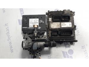 MAN D2676 EURO 6 ECU set 0281020273, 51258047212, PTM 81258057120, ignition with key