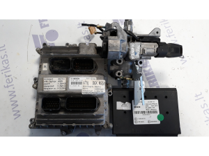 MAN D2676 EURO 6 ECU set 0281020273, 51258201021,PTM 81258057138, ignition with key