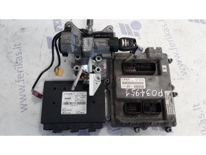MAN D2676 EURO 5 ECU set 0281020067, 51258037683, PTM 81258057116 ignition with key