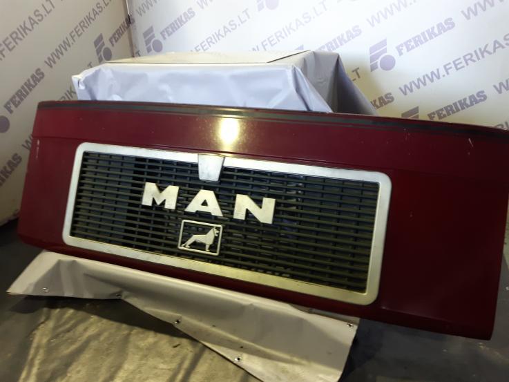 MAN F2000 upper grill , bonnet , hood 81611100015 2363000