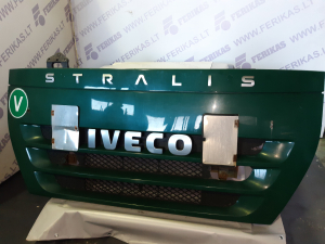 Iveco stralis upper grill , bonnet , hood 504181287