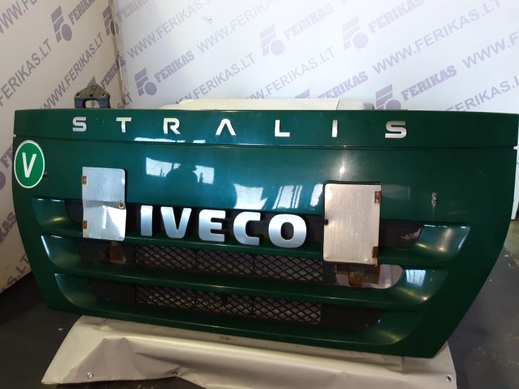 Iveco stralis upper grill , bonnet , hood 504181287