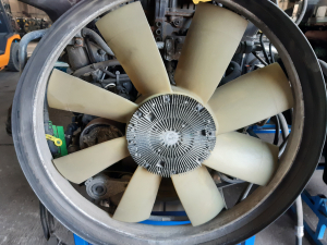 Renault T EU6 cooling fan 21990513