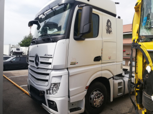 2013 Mercedes Actros mp4 euro6 truck breaking for parts