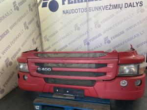 Scania G complete bumper 1865182 1865183 1865181 1936674 1936675