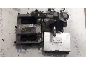 MAN D2066 EURO 5 ECU set 0281020067, 51258037674, 51258337008, FFR 81258057089, ignition with keys