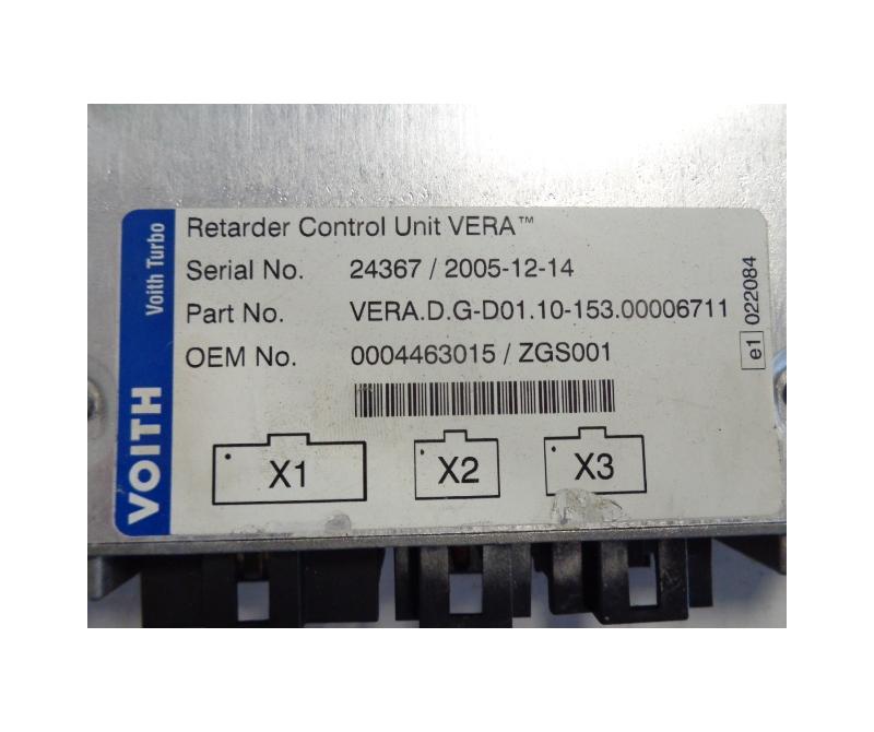 Mercedes Benz Voith Retarder control unit VERA 0004463015