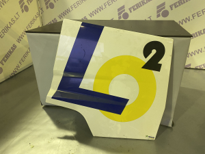 Renault T luggage cover 7482376273 LH