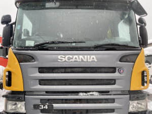 Scania P upper grill , bonnet 1543607