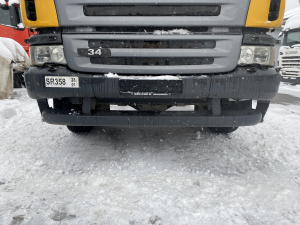 Scania P complete front bumper with xenon headlights 1730150 1730151 1548053