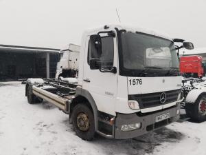 2007 Mercedes Benz Atego EURO5 sunkvežimis ardomas dalimis