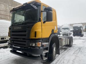 2007 Scania P340 4X4 sunkvežimis ardomas dalimis