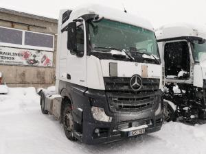 2015 Mercedes Benz Actros 2542 MP4 EURO6 sunkvežimis ardomas dalimis