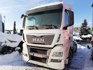 2014 MAN TGX 440 EURO6 vilkikas ardomas dalimis