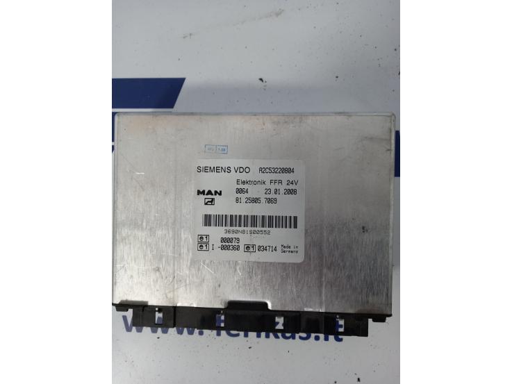 MAN Elektronik FFR valdymo blokas 81258057069