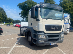 2013 MAN TGS EURO5 breaking for parts